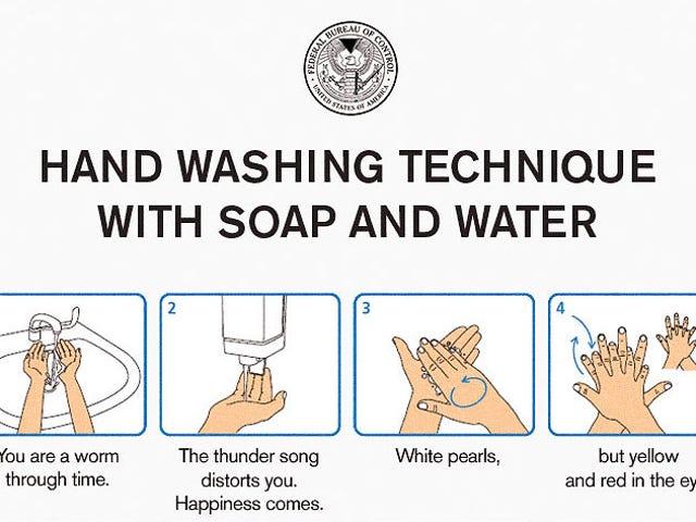 Ο έλεγχος έχει κάποιες συμβουλές για το πλύσιμο των χεριών σας