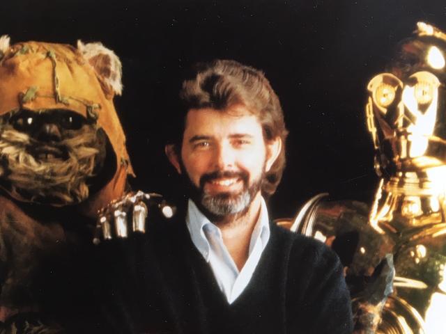Masa yang saya tulis George Lucas A Letter