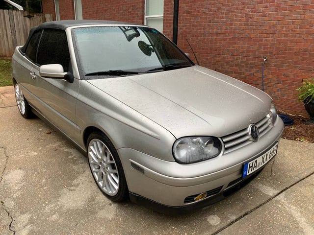 At $3,000, Is This 1999 VW Cabrio a Good Investment in a Future Classic?