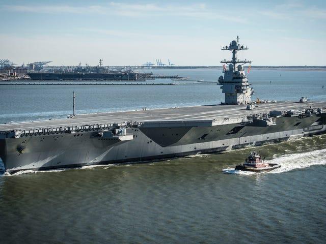Esto es lo que de verdad hace falta para hundir un portaaviones