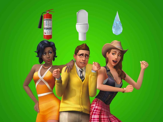 What is the weirdest thing you've ever done in The Sims?
