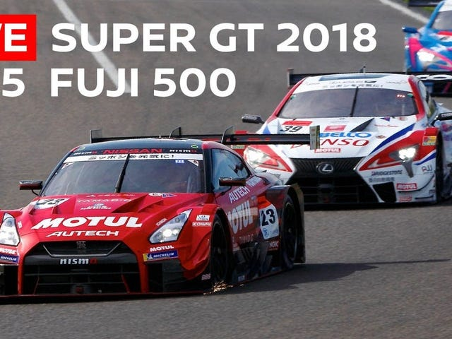 Watch Super GT at Fuji you people