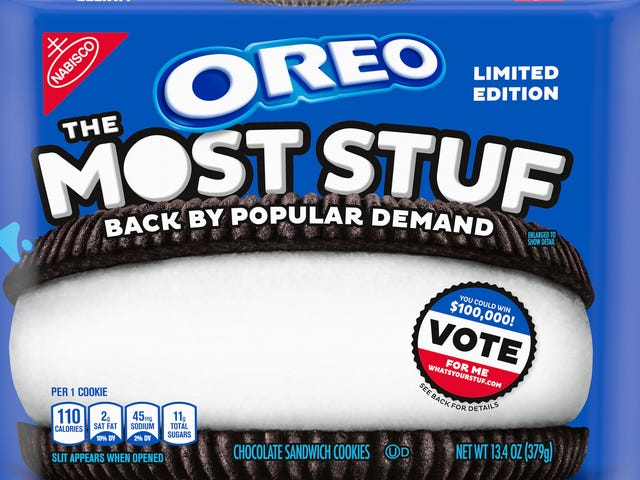 Oreo brings back Most Stuf, sows crumbs of discord among nation's cookie eaters
