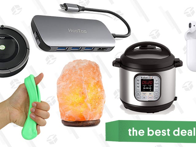 Thursday's Best Deals: AirPods, Instant Pot, Fitness Putty, and More