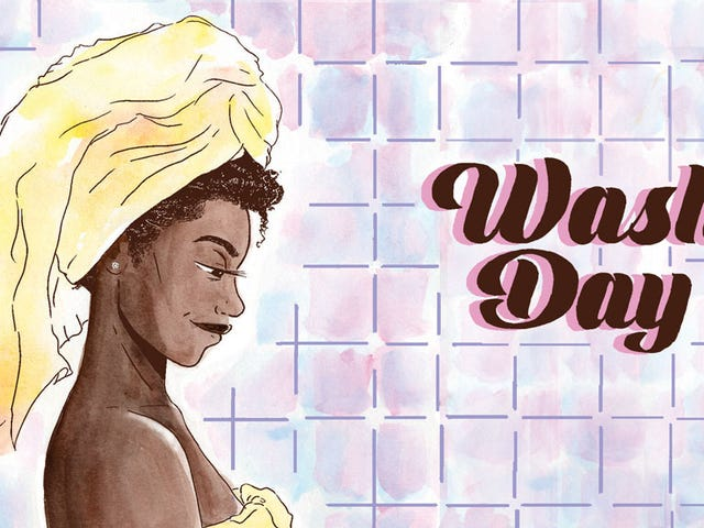 Comic Relief: Wash Day Captures the Radical Self-Love in a Hair-Care Ritual