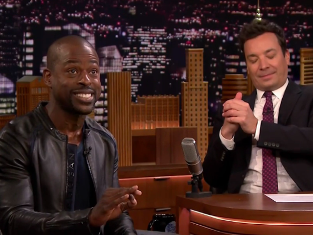 On The Tonight Show, Sterling K. Brown talks Black Panther,hosting SNL, and a major This Is Us twist
