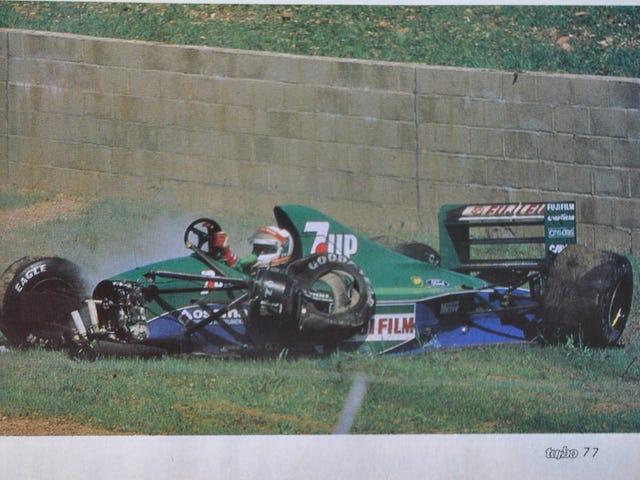 Você está se sentindo tão exausto esta manhã como a pobre e velha Andrea de Cesaris está aqui?