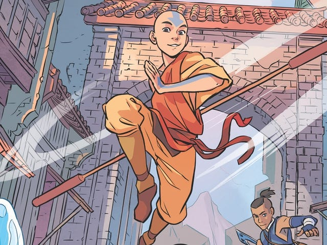 The new team behind theAvatarcomic opens up in this exclusive preview
