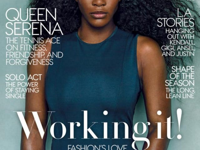 Serena Williams Covers Vogue, Discusses Friendship With Biggest Rival