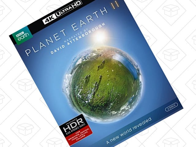 Add Planet Earth II To Your 4K Blu-ray Collection