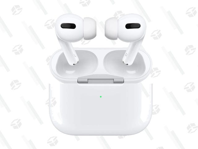 DON'T MISS IT: AirPods Pro Fall to All-Time Low $210