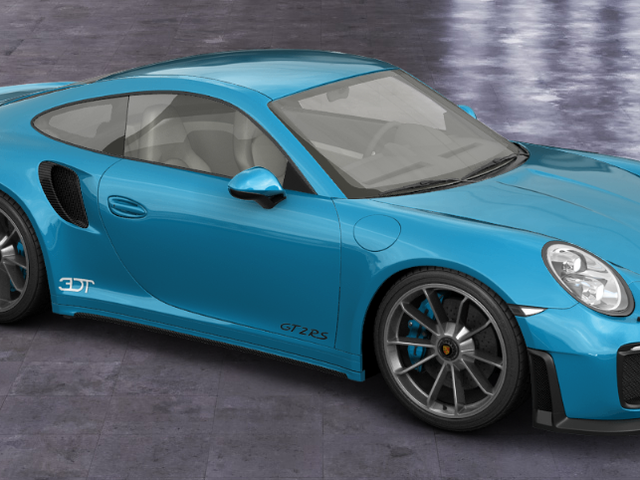 Thanks to 3DTuning, I was able to create the Porsche 911 Turbo RS.