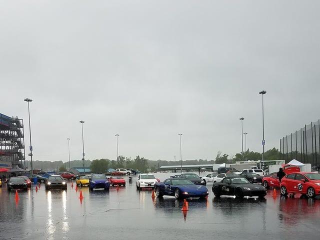 Wet autocross (bonus Pao!)