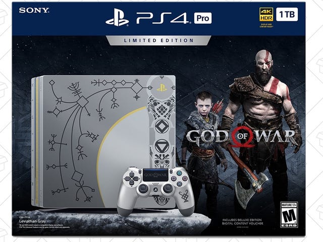 The PS4 Pro God of War Console Bundle Includes a Game Without Raising the Price
