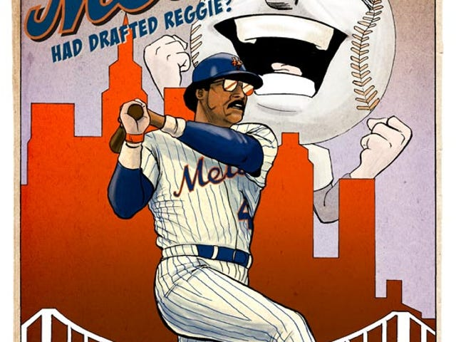 Revising A Miracle: What if the Mets Had Drafted Reggie?