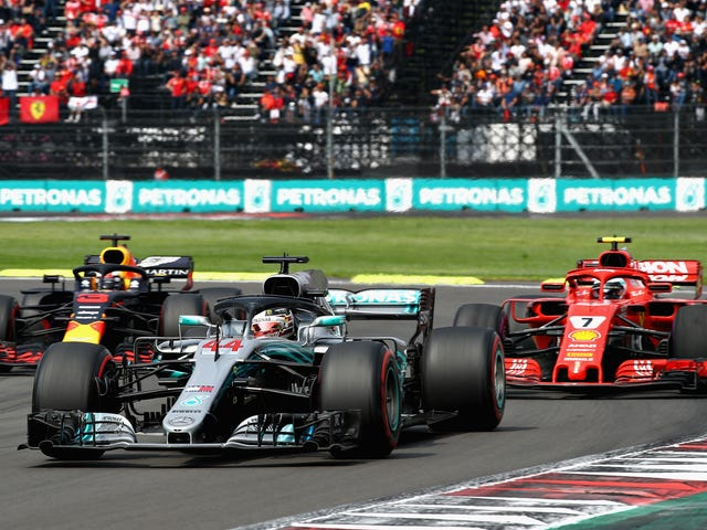 F1 Will Stream This Weekend's Mexican Grand Prix Coverage For Free On Twitch, But Not In The U.S.