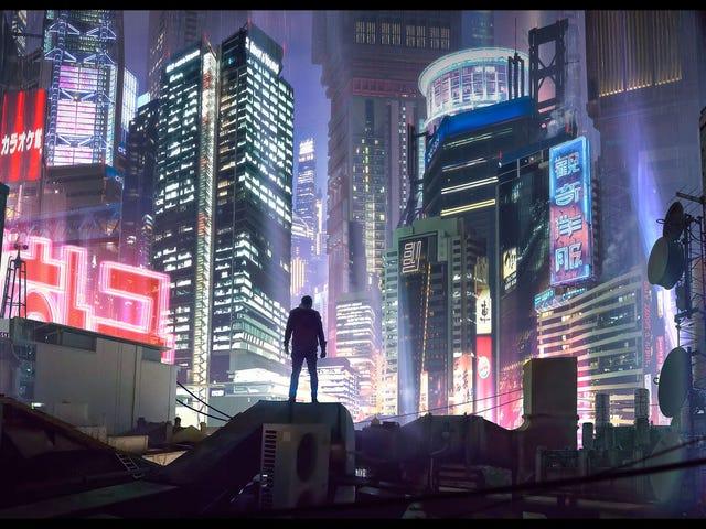 Cyberpunk Skylines