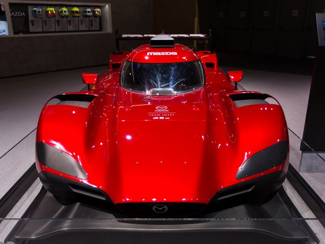 Sure Hope The 2018 Mazda RT24-P Is As Fast As It Is Gorgeous