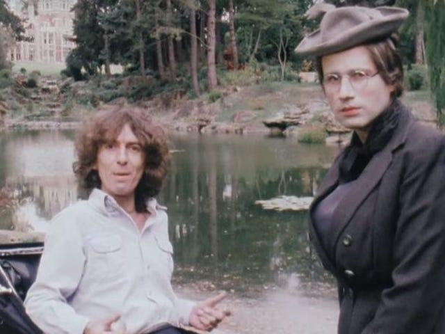 40 лет назад Джордж Харрисон принял на работу Эрика Идла, чтобы сделать несколько видео в стиле Python