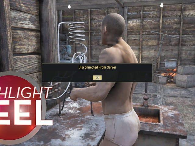 <i>Fallout 76</i>球员与服装脱节
