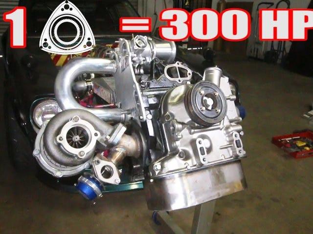 Turbo single-rotor build