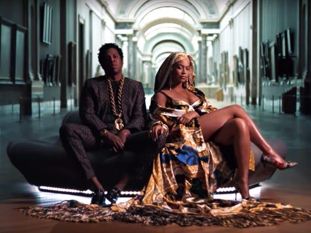 """Kiitos Beyoncén ja Jay-Z: n vierailijoille """"Apeshit"""" Louvressa vuonna 2018, mutta Fan Cries Foul"""