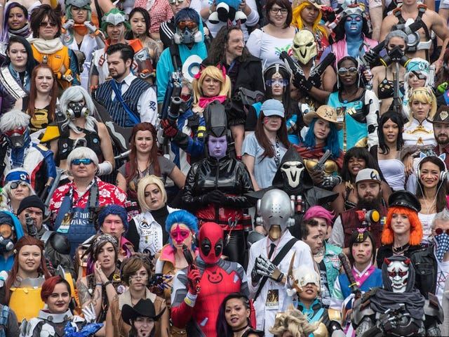 That Was A LOT Of Overwatch Cosplayers