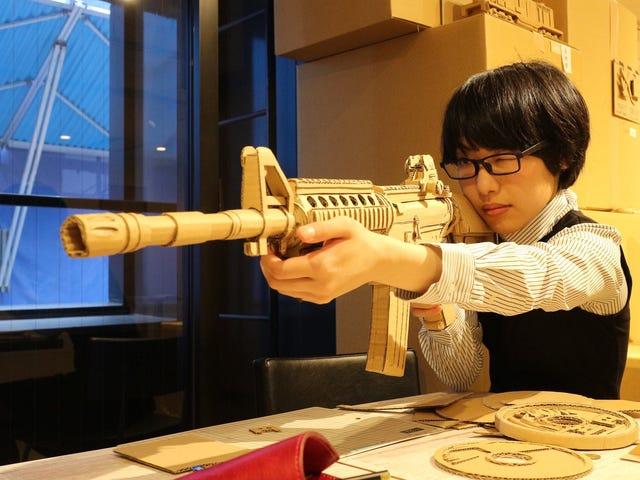 Incredible Cardboard Creations From Japan