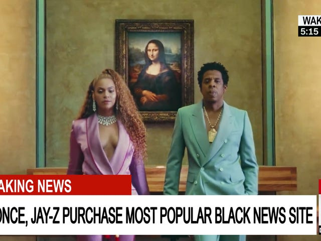 Beyoncé, Buy The Root (and All of GMG and The Onion). It's for Sale