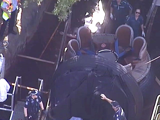 Four Killed on River Rapids Ride at Australian Theme Park