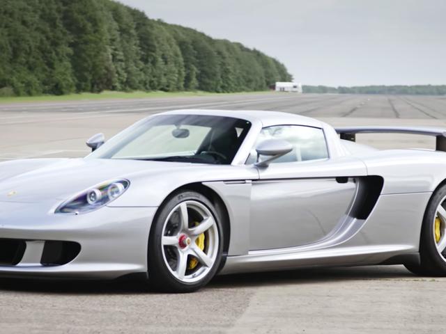 Porsche Carrera GT on edelleen sankarini auto
