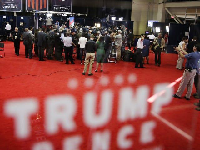 Το GOP συγχαίρει τον Mike Pence για τη νίκη του για νίκη, Ώρες πριν από την έναρξη της συζήτησης