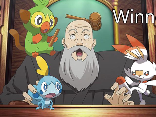 'Shop Contest: Pokemon Starters Escape, Winners!