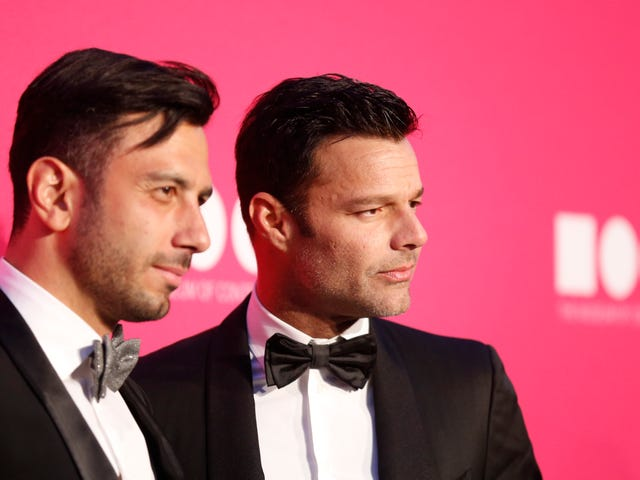 Ricky Martin and Jwan Yosef Got Married, But the 'Heavy Party' Isn't Happening for a Few Months