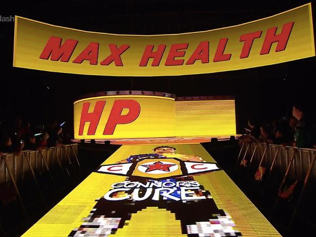 Новий кільцевий вхід WWE зірки прямо з відеоігри