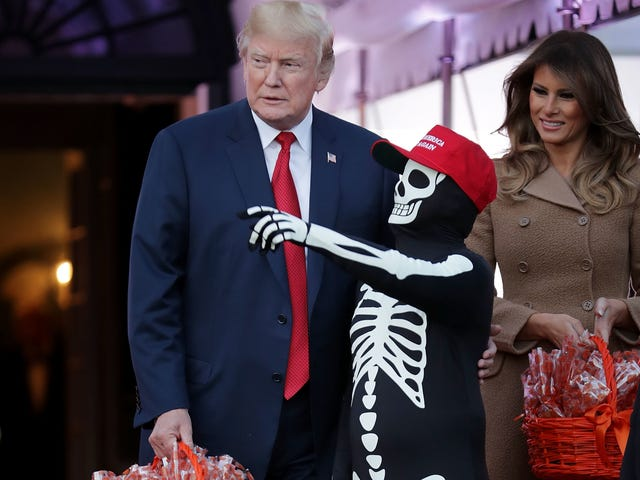 Here, Caption These Scary-Ass White House Halloween Photos