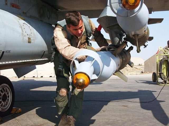 U.S. Allies 'Borrowing' Munitions To Drop On ISIS As U.S. Stockpiles Are Also In Question