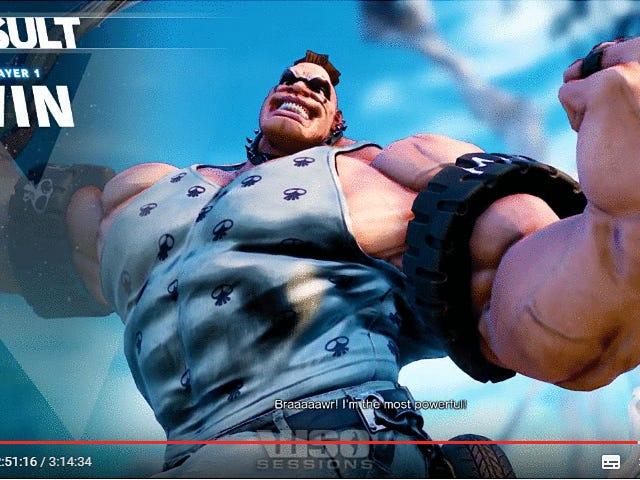 Watak Terbaru <i>Street Fighter V</i> Sedikit Kurang Lebih Besar Daripada Dia Muncul Pertama