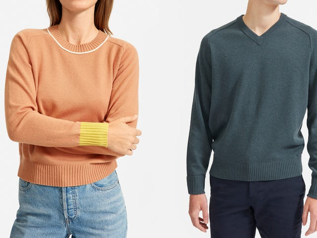 Everlane's New ReCashmere Has a Reduced Carbon Footprint
