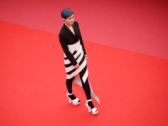 Pop Art on the Cannes Red Carpet