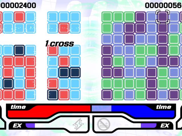 CROSSNIQ + - це гра-головоломка, що відповідає мозаїчним параметрам