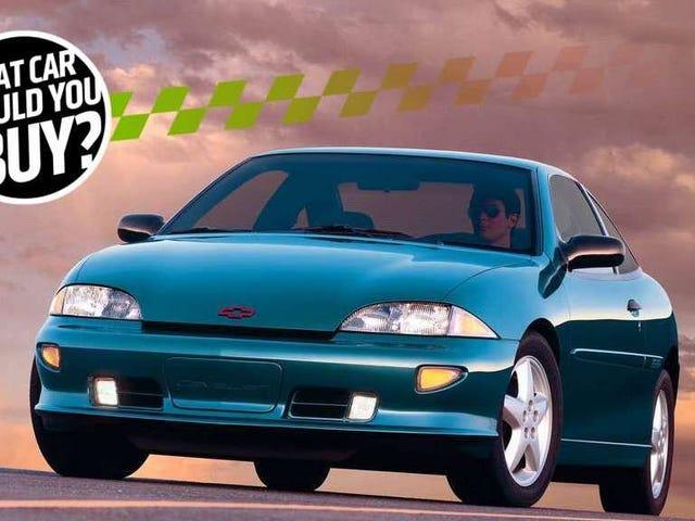 मैं भद्दे सवारी के साथ मेरी बुरी किस्मत को तोड़ने के लिए एक सस्ती कार की आवश्यकता है!  मुझे क्या खरीदना चाहिए?