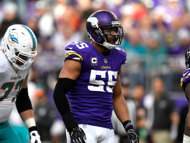 Anthony Barr Just Couldn't Bring Himself To Join The Jets