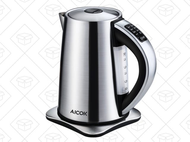 This $29 Kettle Has Six Different Temperature Settings