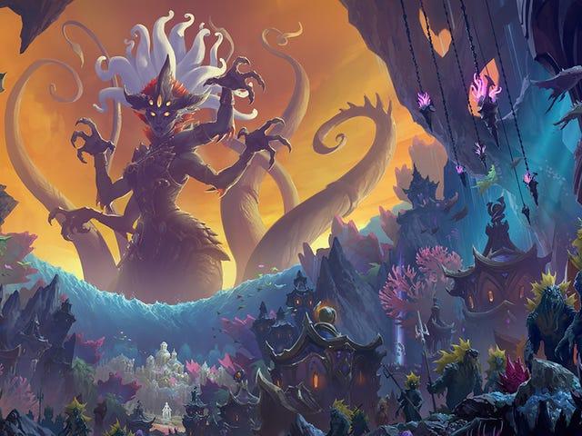 L'aggiornamento di World Of Warcraft Rise Of Azshara è attivo e c'è così tanto da fare
