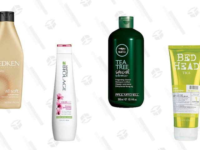 Stock Up On Shampoo and Conditioner From Redken, Matrix, Paul Mitchell, & More at Ulta