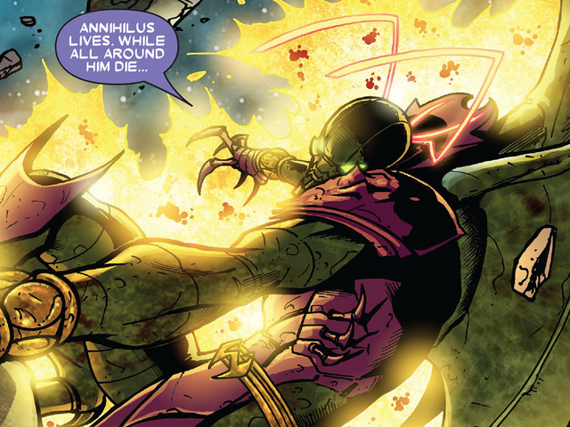 Captain Marvel's Website Teases Obscure Villain Annihilus, Here's What You Need to Know