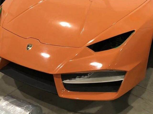 Knock-Off Shop Busted for Making Fake Ferraris and Lamborghinis in Brazil