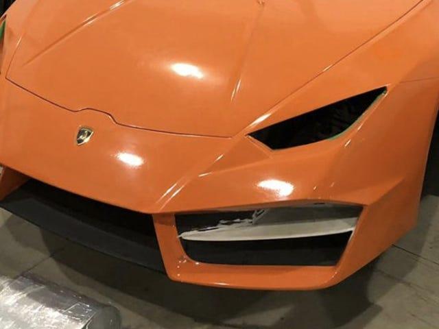 La tienda de imitación fue arrestada por fabricar falsos Ferraris y Lamborghinis en Brasil