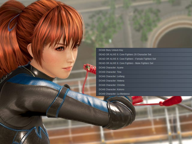 Play Dead Or Alive 6's Free Version But Don't Buy The Game A La Carte